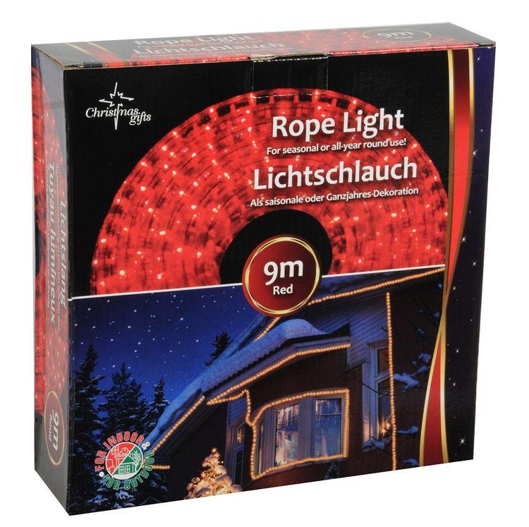 Catena luminosa natalizia 9m 230V rosso da interno ed esterno Christmas Gifts 8711252486505 871125248650
