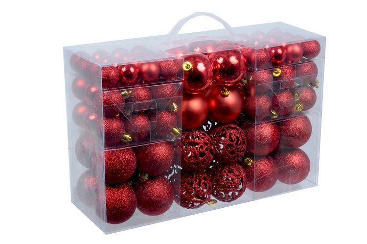 Confezione 100 palline natalizie assortite oro Christmas Gifts 8711252985794 871125298579
