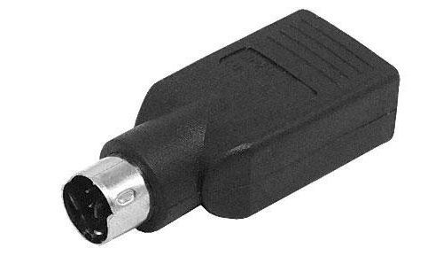Adattatore PS2 - USB per tastiera e mouse C1038