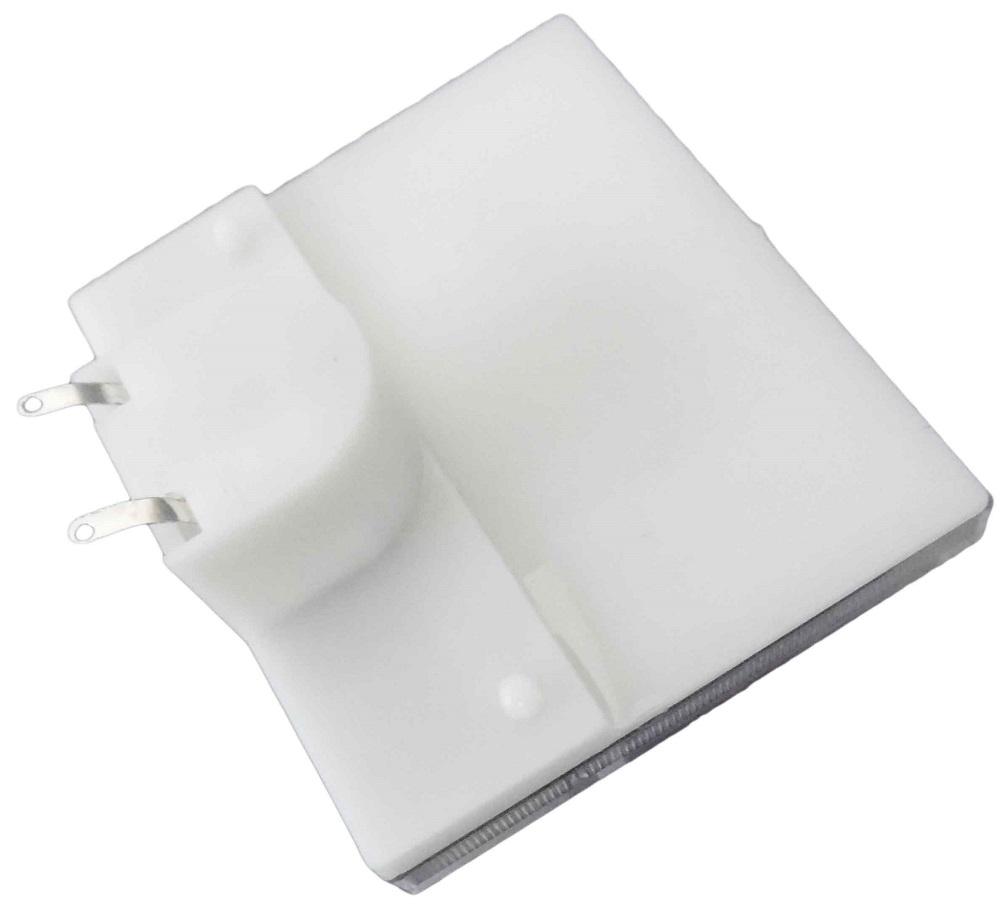 Voltmetro analogico da pannello 300VAC con quadrante bianco EL677