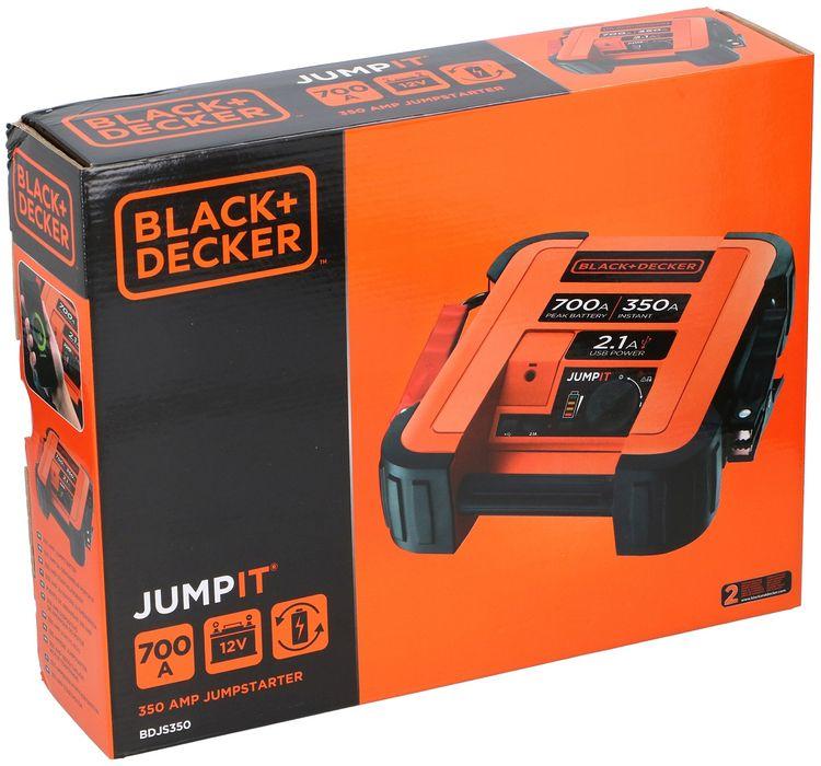 Avviatore di emergenza per auto 350A Black&Decker ED3122 5035048210222 503504821022