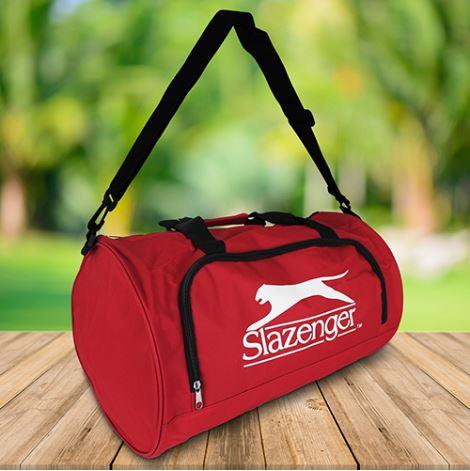 Borsone sportivo 50x30x30cm 35 litri rosso Slazenger 8711252050119 871125205011 ED3170