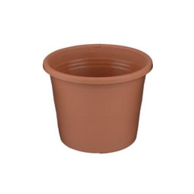 Round vase 24x19cm Brown ED900