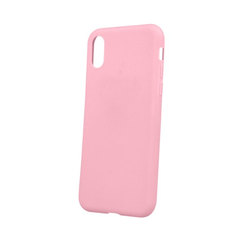 Back cover in TPU matt silicone Pink for Huawei Mate 20 Lite MOB617