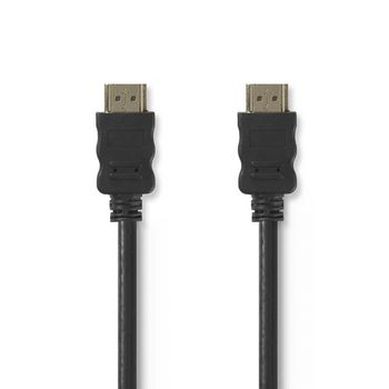 High speed HDMI⠄¢ cable with Ethernet | HDMI⠄¢ Connector - HDMI℠¢ Connector | 2.0 m | Black CVGT34000BK20 Nedis