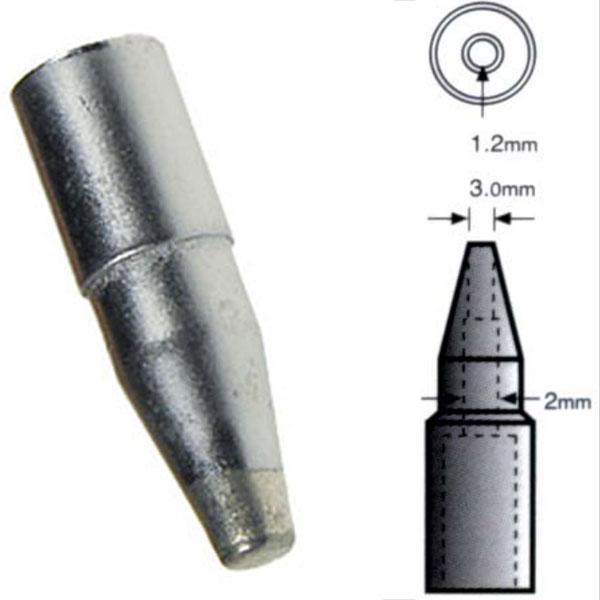 Punta di ricambio T912 1.2mm per stazione saldante DDG-928/DIG-916 90312
