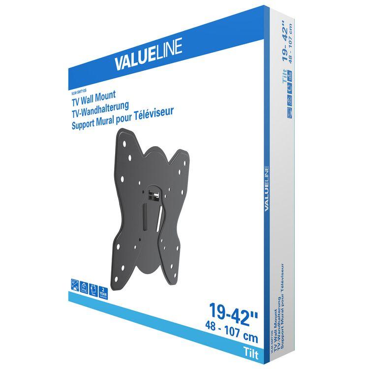 "Tiltable Wall Mount 19 - 42 ""30 kg STAND650 Valueline"