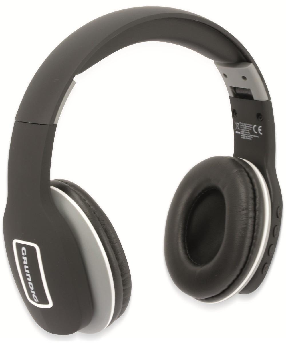 Cuffie Bluetooth ripiegabili con microfono colore nero Grundig ED5160 Grundig