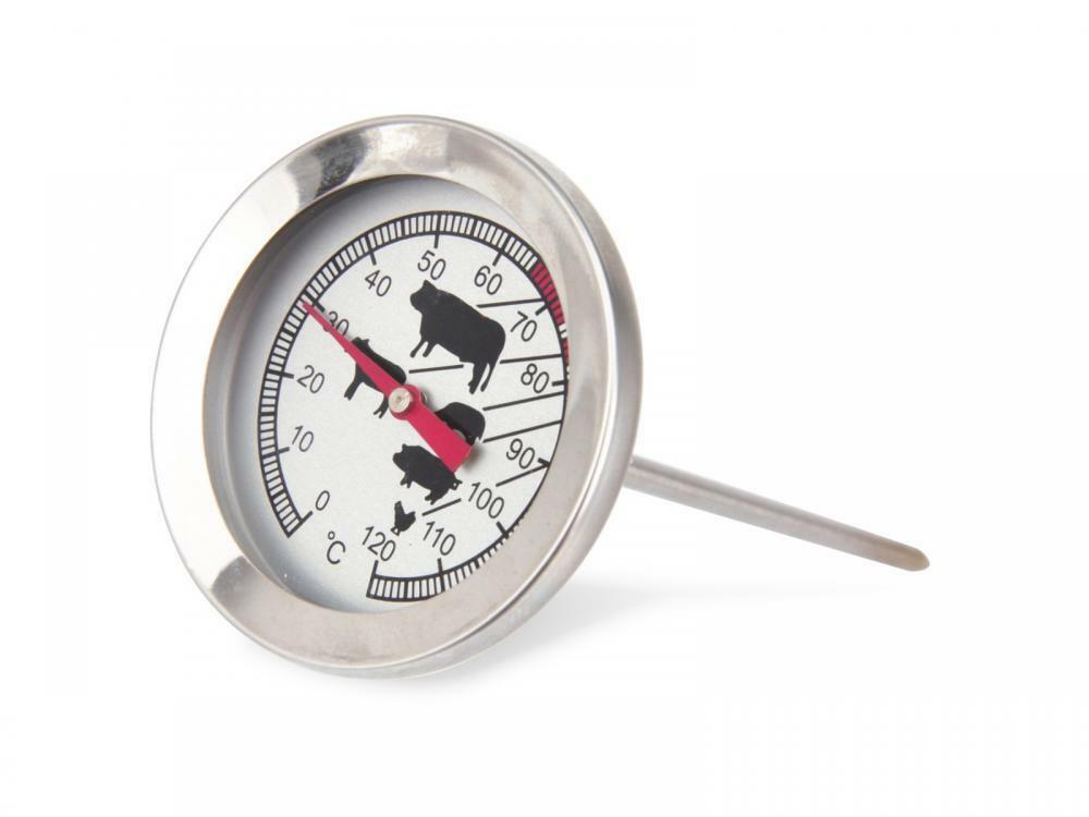 Termometro analogico per carne in acciaio INOX Alpina 8711252091112 871125209111 ED5276