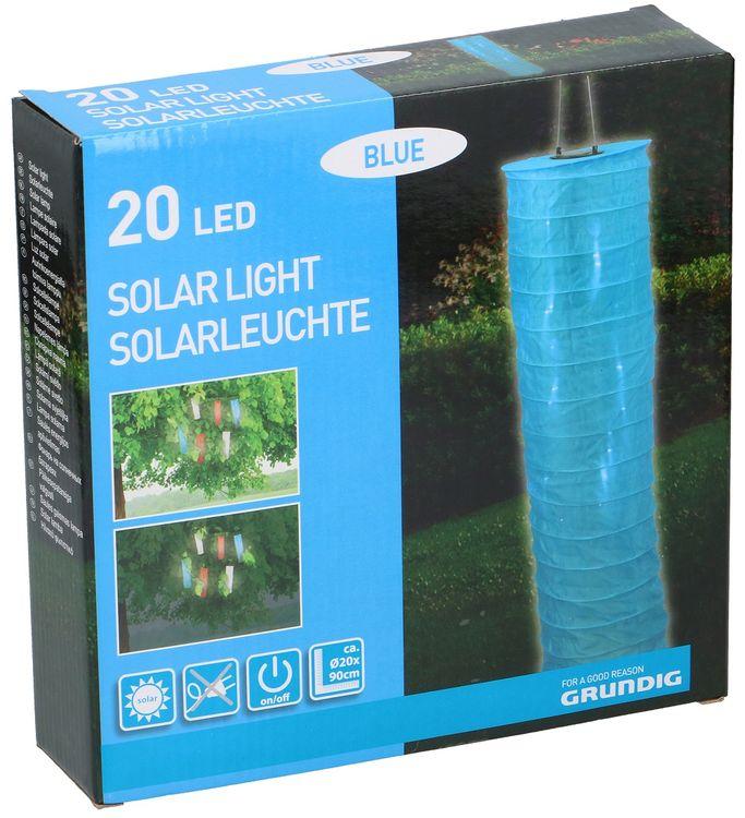 Lanterna LED ad energia solare Grundig - Vari colori 8711252037868 871125203786 ED5324
