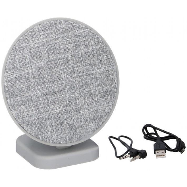 Speaker Bluetooth tessuto grigio chiaro 2x3W Dunlop 8711252071527 871125207152 ED5328