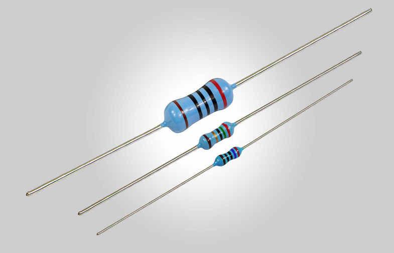 Resistenza assiale di precisione 47 ohm 1W 0,5% - confezione 10 pezzi NOS100740