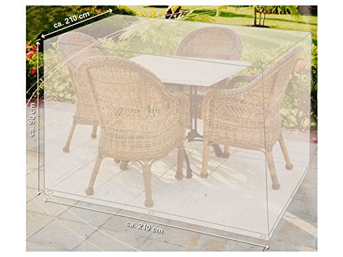 Telo di copertura per sedie o mobili da giardino 210x210x90cm Lifetime Garden ED5506 Lifetime garden
