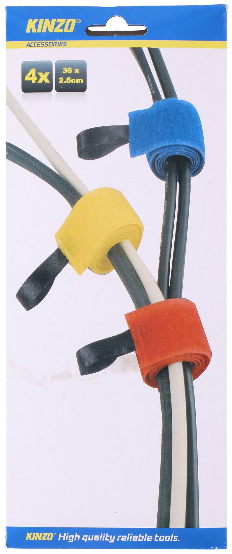 Cable ties 36x2.5cm - 4 pieces package ED3394