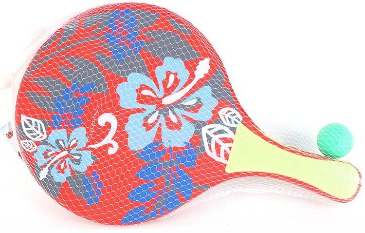 Set 2 racchette da spiaggia con pallina ED5532