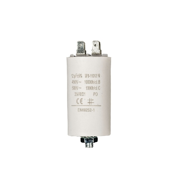 12.0uf / 450 v + Aarde capacitor ND1265 Fixapart