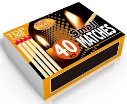 Matchbox 40 pieces 51x35.8x15.1mm Top Line ED4070 Top Line