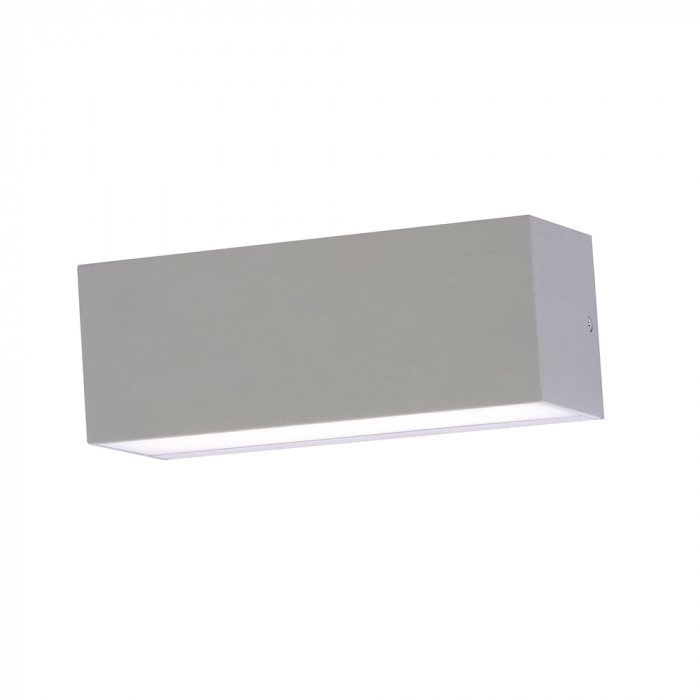 12W rectangular double wall light LED lamp - gray EL427