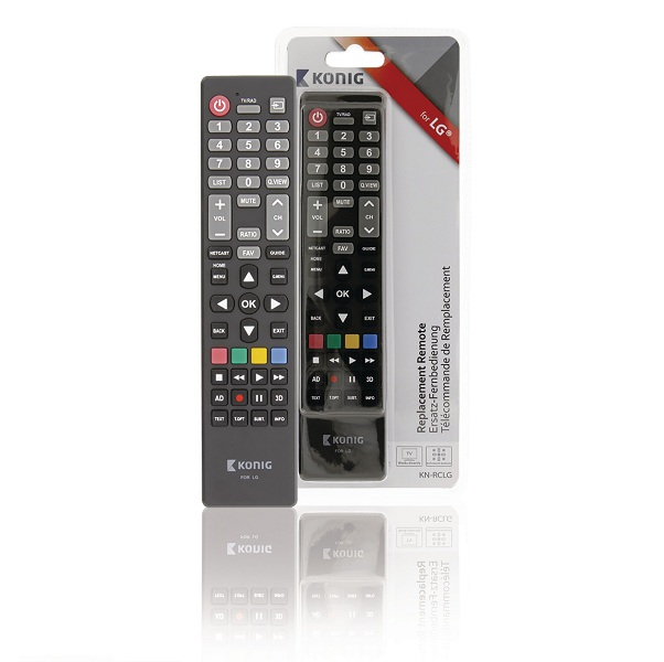 Remote control for LG receivers KN-RCLG König