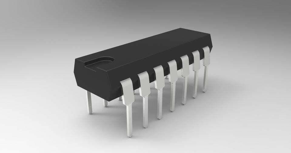 Integrated TTL 74LS153B NOS110055