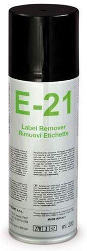 E-21 Spray rimuovi etichette 200 ml DUE-CI H977