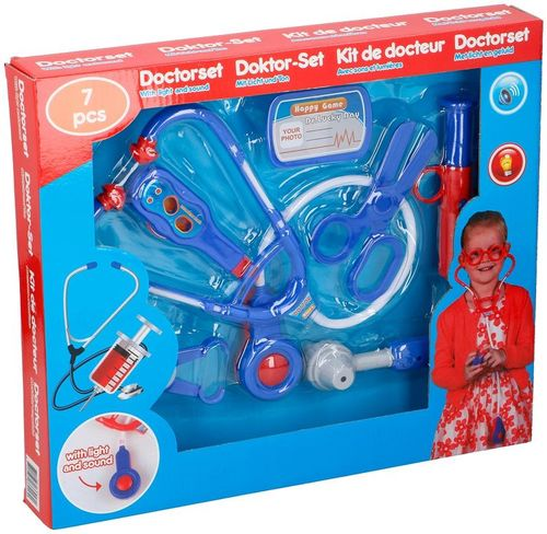 Doctor game with 7 tools ED4188 Eddy Toys
