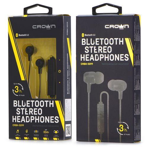 Auricolare Bluetooth Nero CMBH-5099 Crown Micro