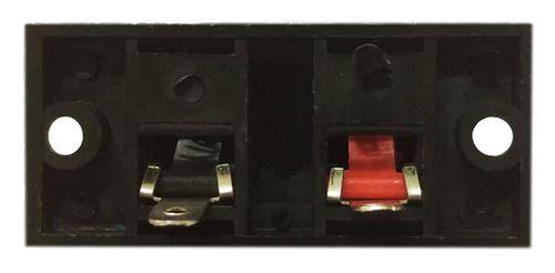 Morsettiera per Altoparlanti 2 Poli 52x24mm SP6109
