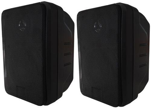 Pair of 2-way loudspeakers 80W max 21.5x14x13cm V2024