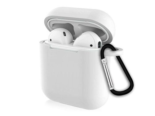 Protective Silicone Cover for Airpods 1 & 2 (White) MOB1209
