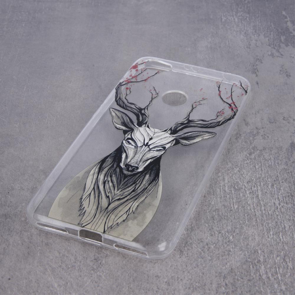Custodia Deer ultra trendy per Huawei P30 MOB126 Oem