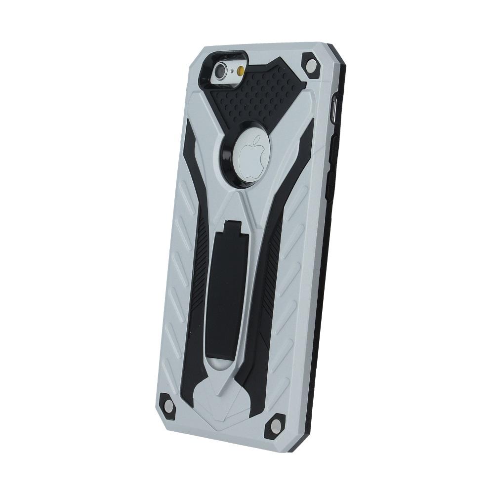 Custodia Stand Defender per iPhone XR argento MOB1472 Oem