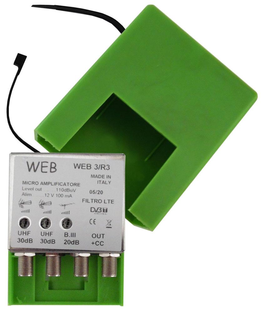 Microamplificatore da palo Web3 / R3 MT410