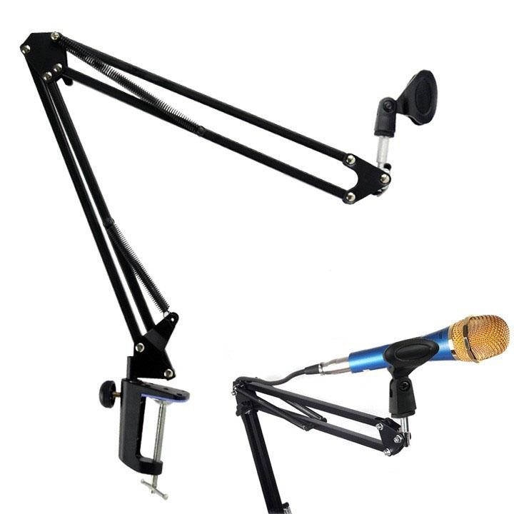Supporto da tavolo regolabile per microfono - Microfono da tavolo wireless ...