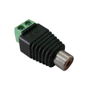Adapter from RCA socket to screw terminals Z318