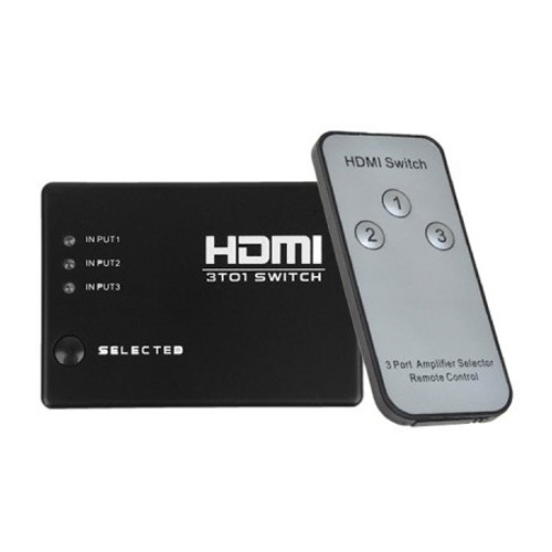 HDMI Switch 3 Ports with remote control L029