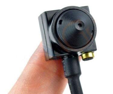 Microtelecamera a colori con microfono Z627