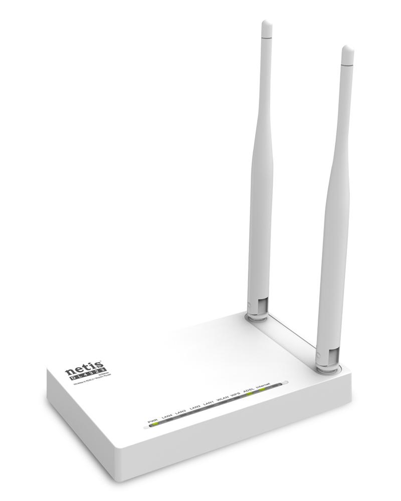 DL4323 - 300Mbps Wireless N ADSL2+ Modem Router DL4323 Netis