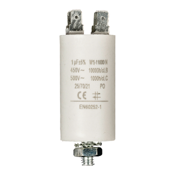 Capacitor 1.0uf / 450 v + Earth ND1215 Fixapart