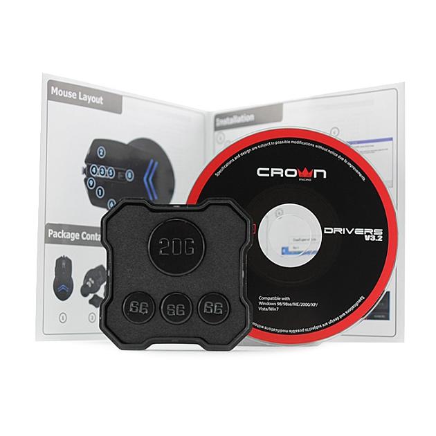 Gaming mouse filare 7 tasti programmabili 3500 DPI Colt CMXG-703