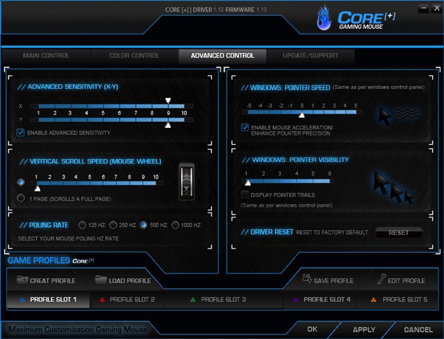 Gaming mouse filare 7 tasti programmabili 3500 DPI Colt CMXG-703Gaming mouse filare 7 tasti programmabili 3500 DPI Colt CMXG-703