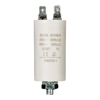 Condenser 3.0uf / 450 v + Aarde ND1230 Fixapart