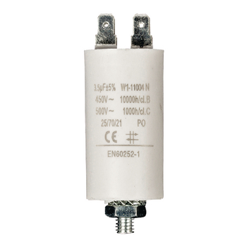 3.5uf / 450 v + Aarde capacitor ND1235 Fixapart