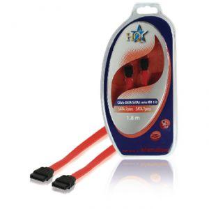 SATA cable 1.5 Gb / s 7-Pin female - female - 1.80 m - Red A1900