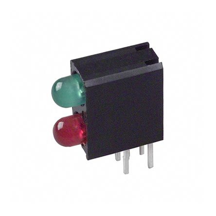 Bi-Level PCB LED Indicator - Verde/Rosso G2062