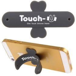 TOUCH-U - Supporto in silicone per smartphone - Grigio M207