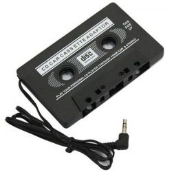 Cassette adapter - 3.5mm stereo jack Q090