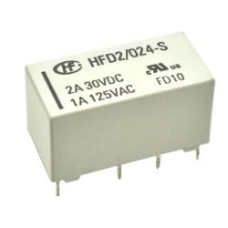 Relay 24V DPDT - HFD2 / 024-S-L1 EL1160