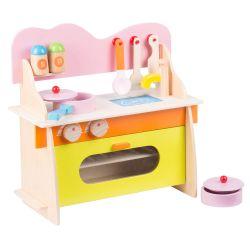 Cucina giocattolo in legno per bambini Marionette Wooden Toys ED2456