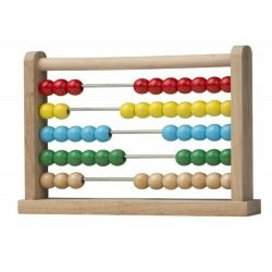 Wooden colored abacus Marionette Wooden Toys ED962